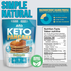 ANS Performance KETO PANCAKE Mix 1lb