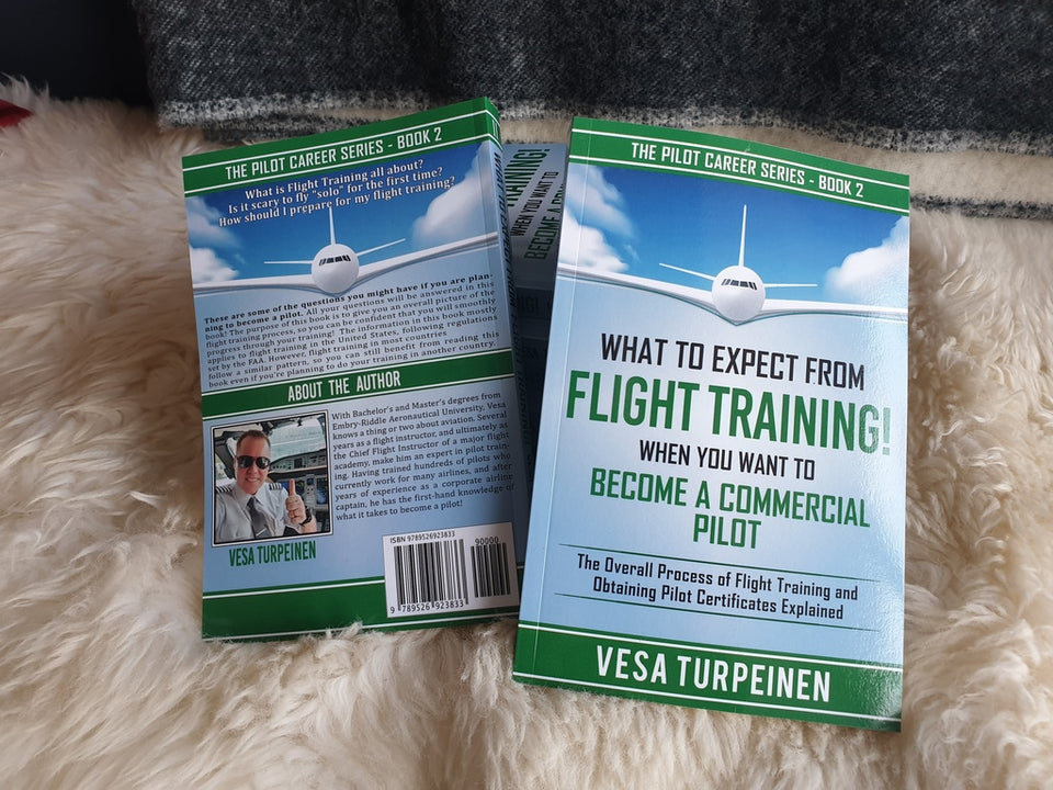 What to Expect from Flight Training! When You Want to Become a Commercial Pilot (1 Price, 3 Formats!)