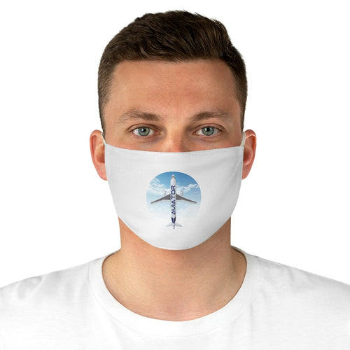 Aviator Fabric Face Mask