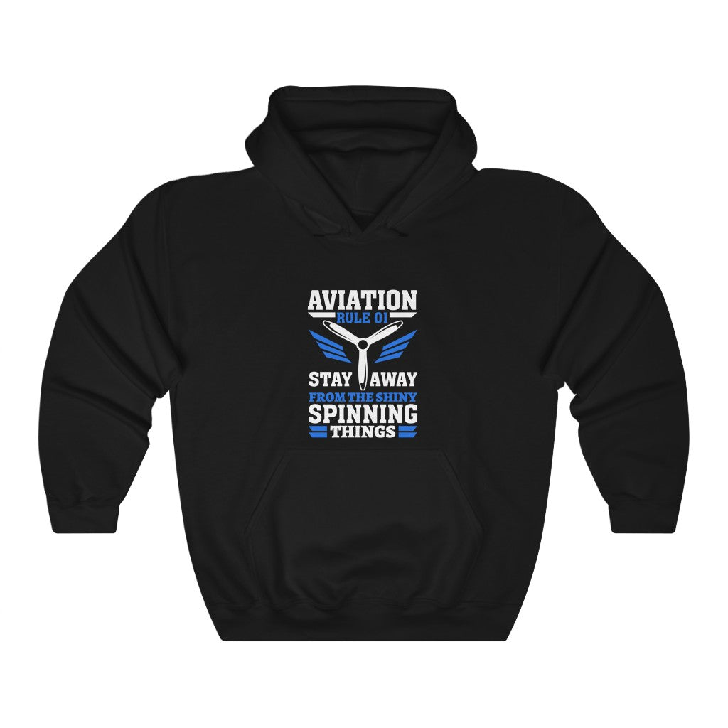 Unisex Heavy Blend™ Hooded Sweatshirt, Aviation 101