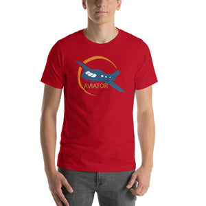 Men's Funkypilot Aviator Short-Sleeve T-Shirt