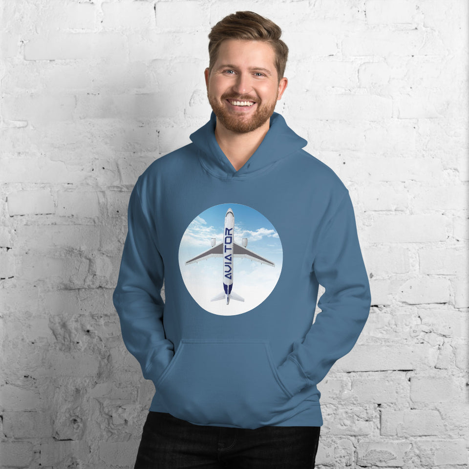 MEN'S AVIATOR  DOUBLE LINED HOODIE