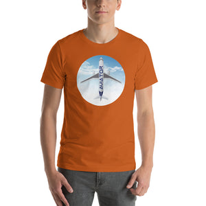 Men's Aviator Short-Sleeve T-Shirt