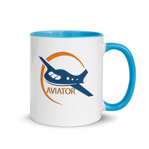 Funkypilot Aviator Ceramic Coffee Mug