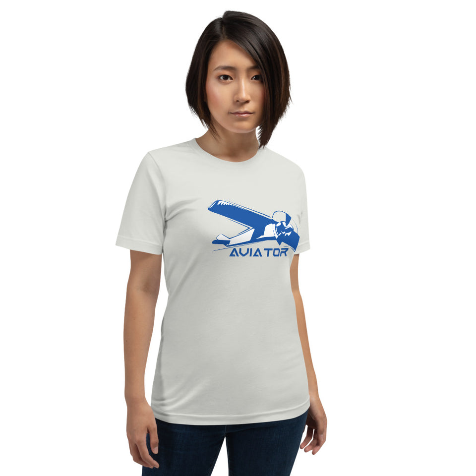 Women's Aviator Short-Sleeve Cotton T-Shirt