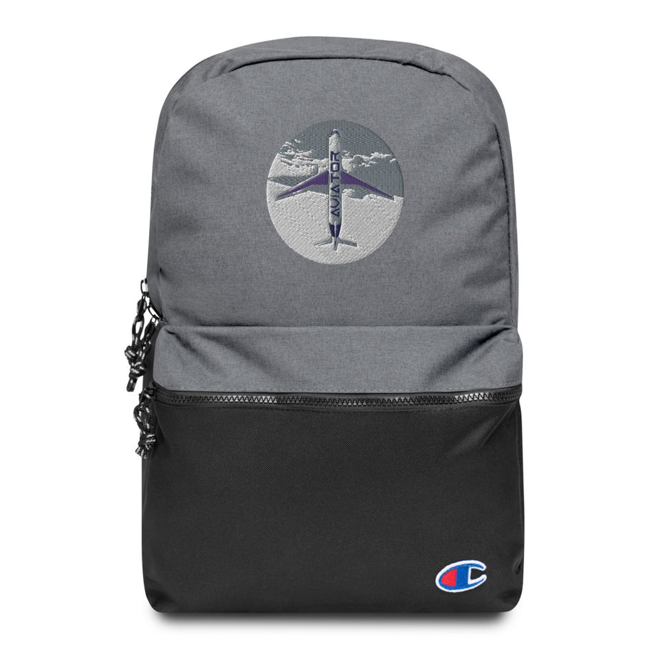 Funkypilot Aviator Embroidered Champion Backpack