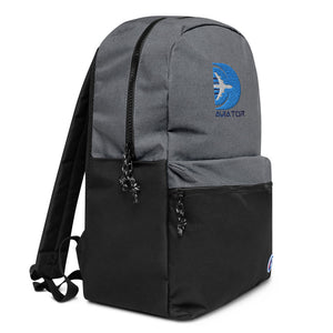Funkypilot Aviator Embroidered Travel Backpack