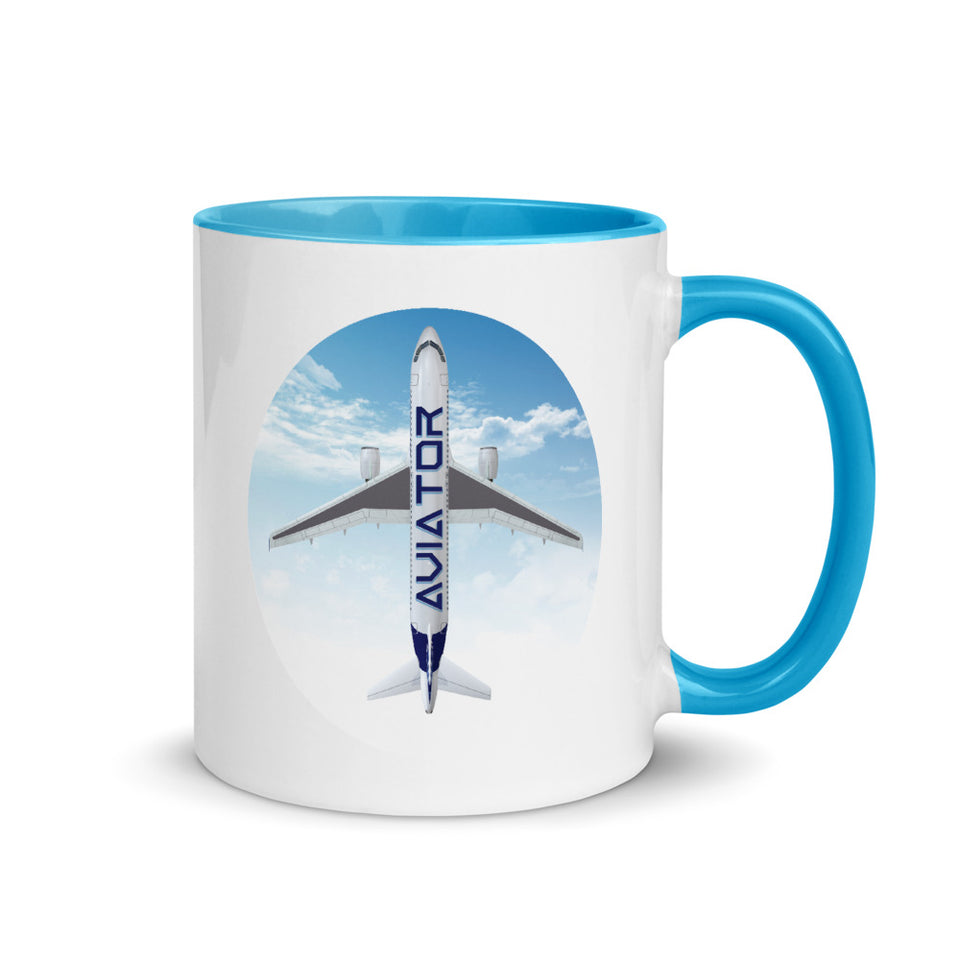 Funkypilot Aviator Coloring Coffee Mug