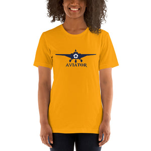 WOMEN'S AVIATOR SHORT-SLEEVE LIGHTWEIGHT T-SHIRT