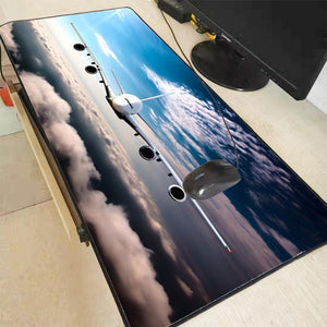 Computer Desk Mouse Pad / Mat for Pilots and Aviation Lovers