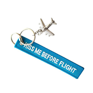 Airplane Keychain and a Tag