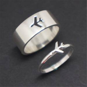 Pilot & Flight Attendant Engagement / Wedding Ring