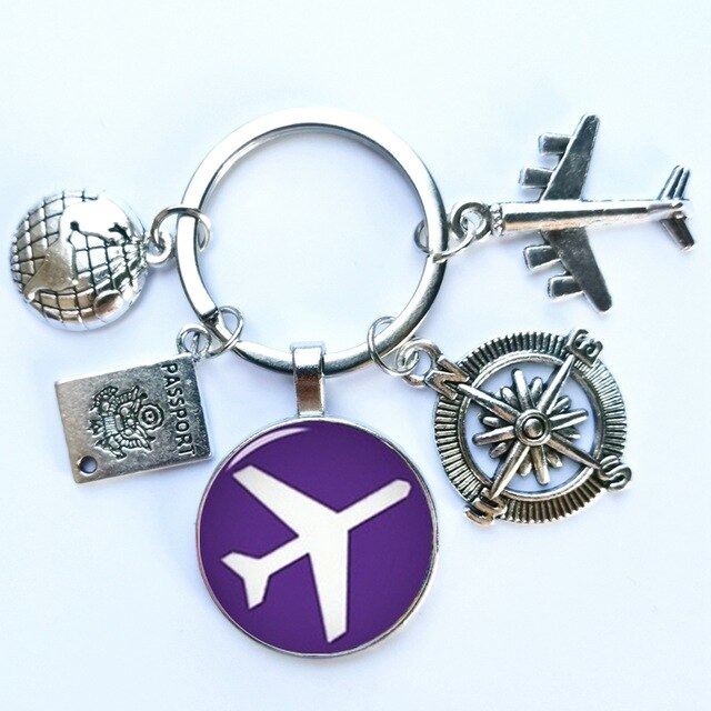 Tour around World Charm Pendant