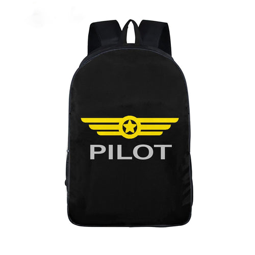Aviation Lover School Backpack