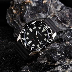 【Escapement Time】Automatic NH35 Diver Watch - 200M Waterproof