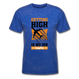 Men's T-Shirt, Getting High - mineral royal