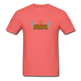 Unisex ComfortWash Garment Dyed T-Shirt, Aviator - coral