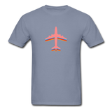 Unisex ComfortWash Garment Dyed T-Shirt, Pink Airplane - blue