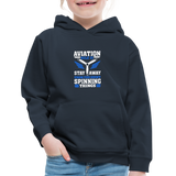 Kids' Premium Hoodie, Aviation 101 - navy