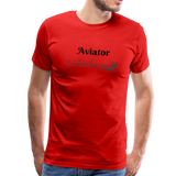 X-mas Aviator Premium T-Shirt - red