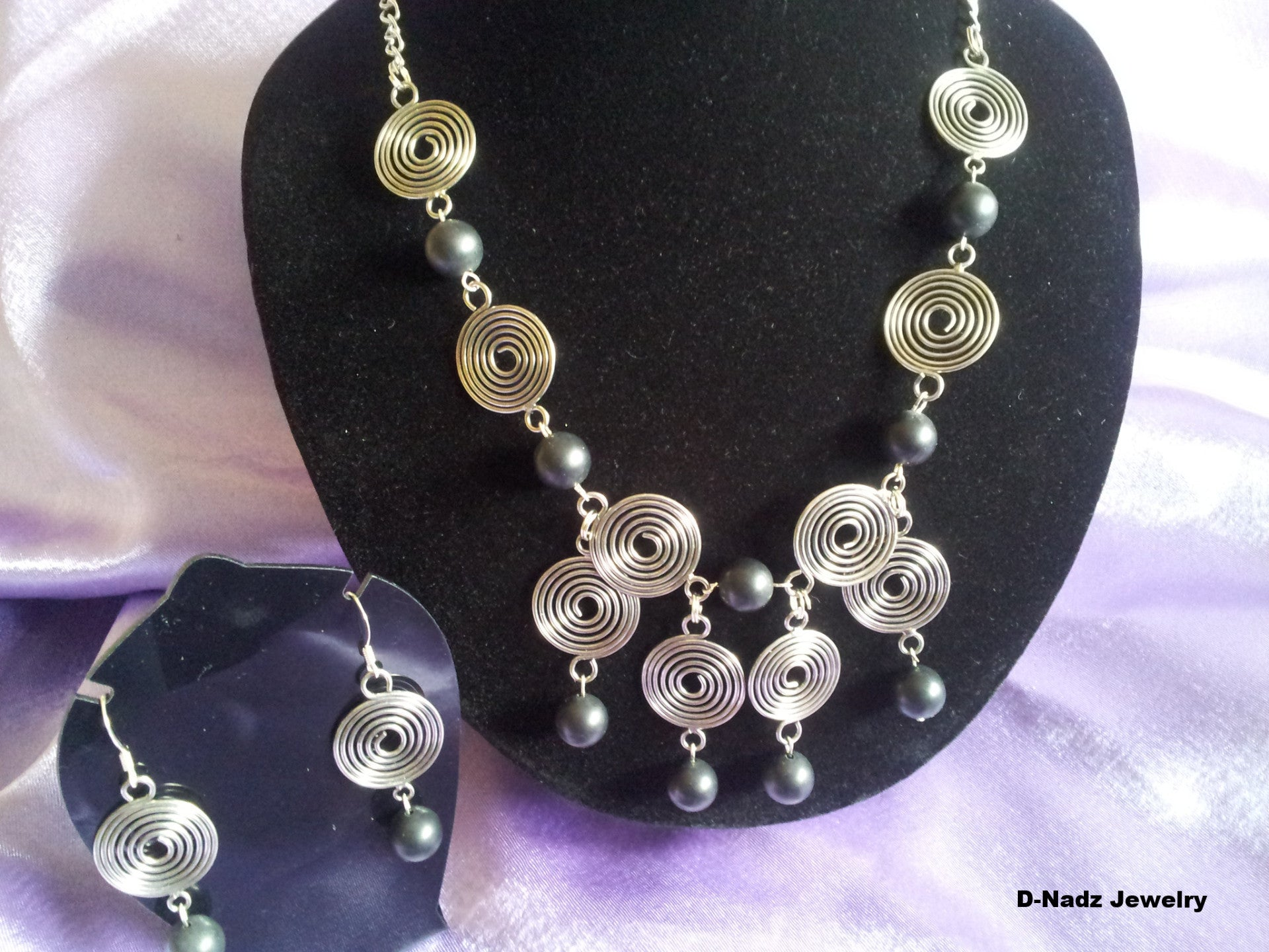 Balls & Swirls - D-Nadz Jewelry