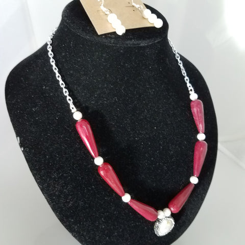 Red Hot Pearl - D-Nadz Jewelry