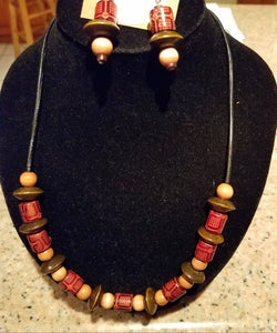Earthy Necklace - D-Nadz Jewelry