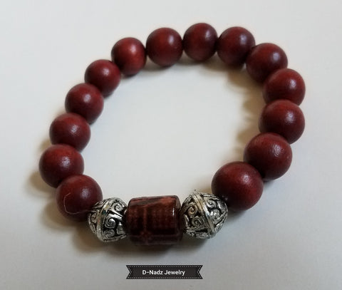 Cool Brown Metal Bracelet - D-Nadz Jewelry