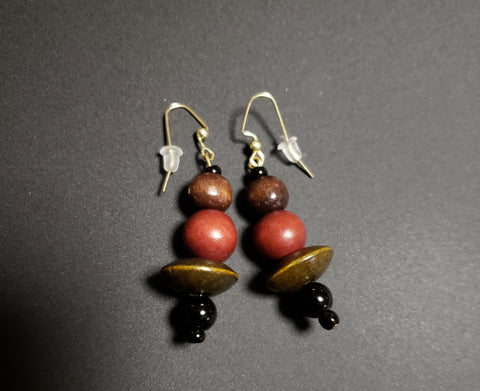 LadyBugs Earrings - D-Nadz Jewelry