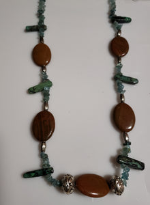 BrownRoad Necklace - D-Nadz Jewelry