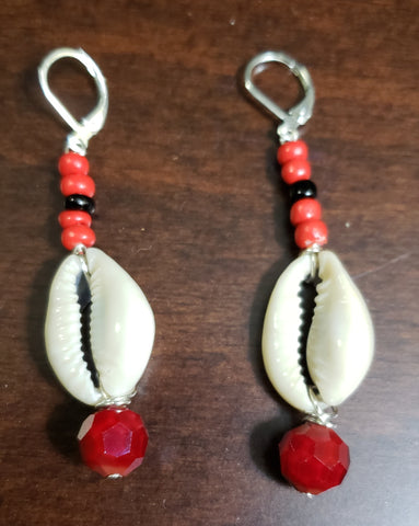 Cowrie Rich Red - D-Nadz Jewelry