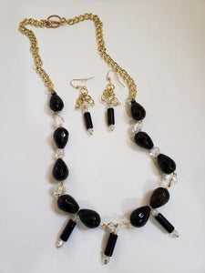BlackStar Necklace Set - D-Nadz Jewelry