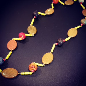 Yellow Trail Necklace - D-Nadz Jewelry