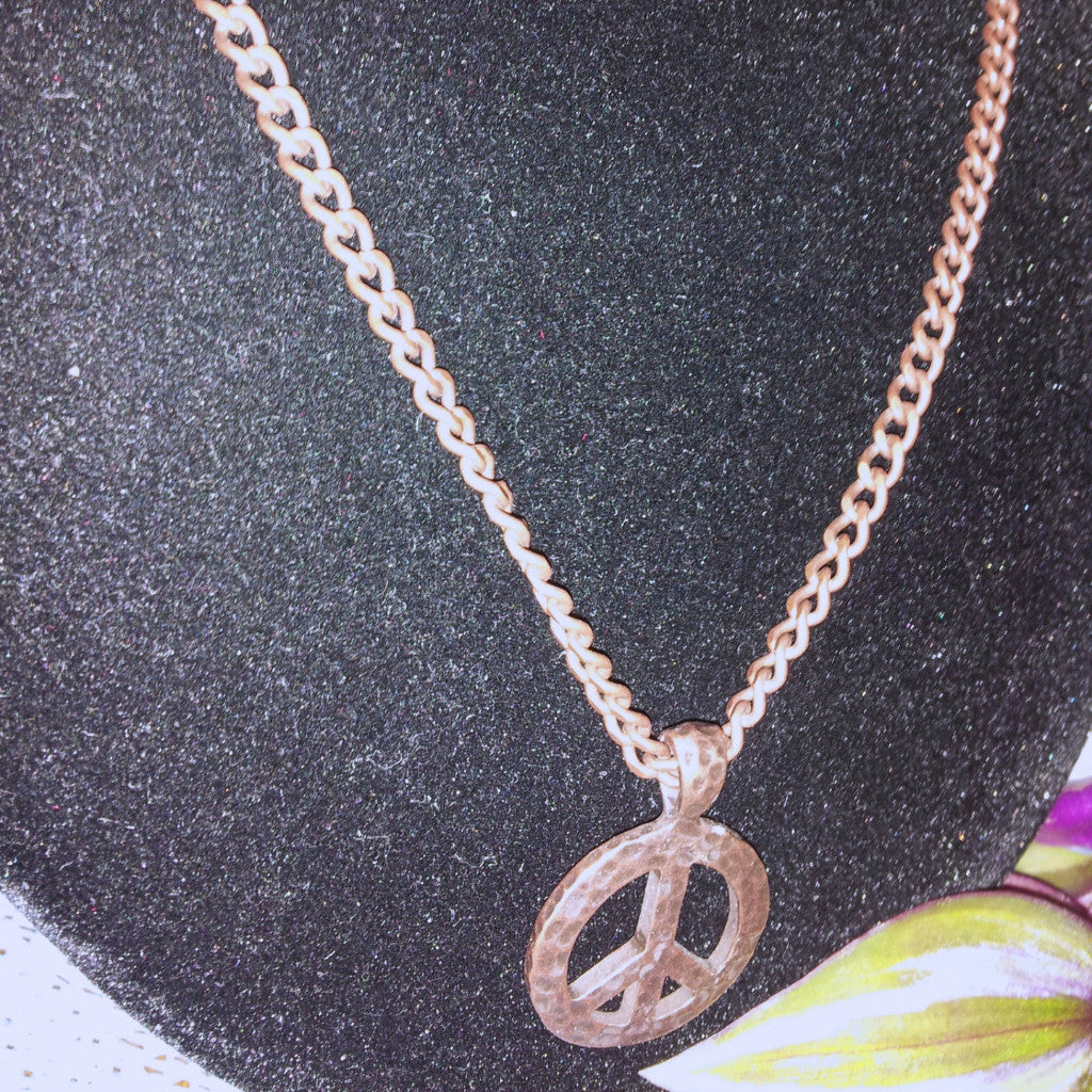 Peace Necklace - D-Nadz Jewelry