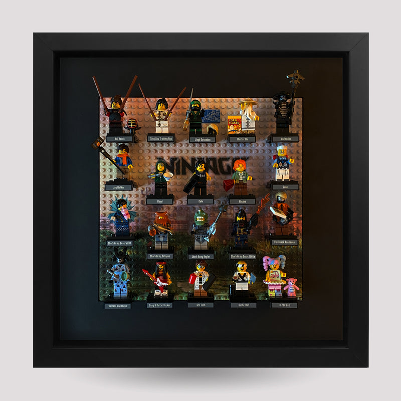 Display Frame Black - Zen Garden (Ninjago)