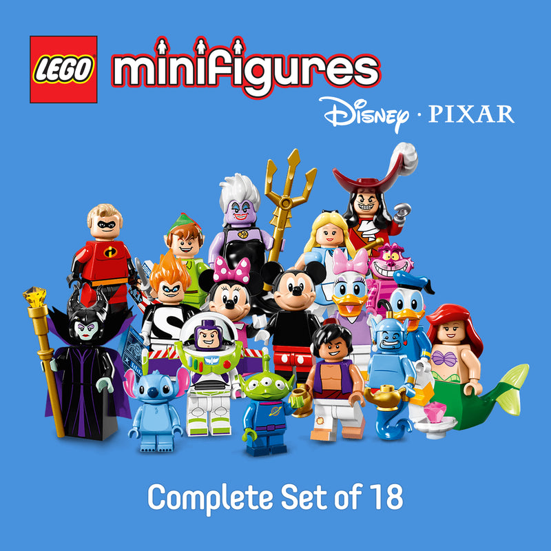 LEGO® 71012 Minifigures Disney Series 1 (Complete Set of 18)