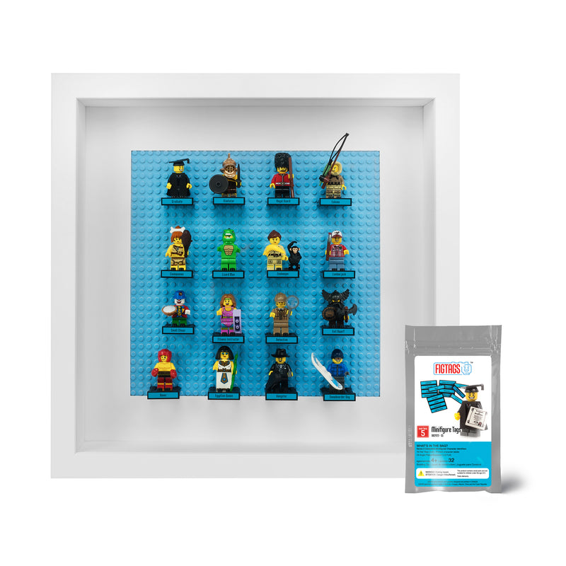 Minifigure Tags for The LEGO® Collectible Minifigure Series 5 (set# 8805)
