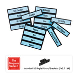 Minifigure Tags for The LEGO® CMF The Simpsons Series 1 (set# 71005)