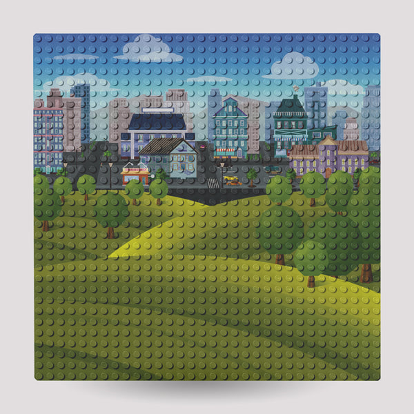 Prints 10x10 Baseplate: Modern and Rural Landscape Collections