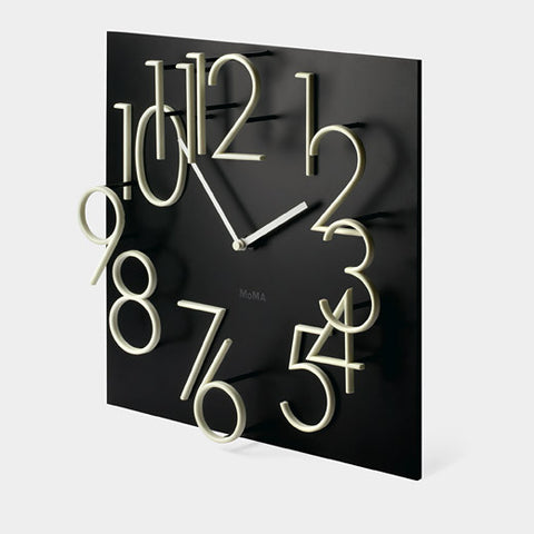 Horloge murale Glow-In-The-Dark MoMa