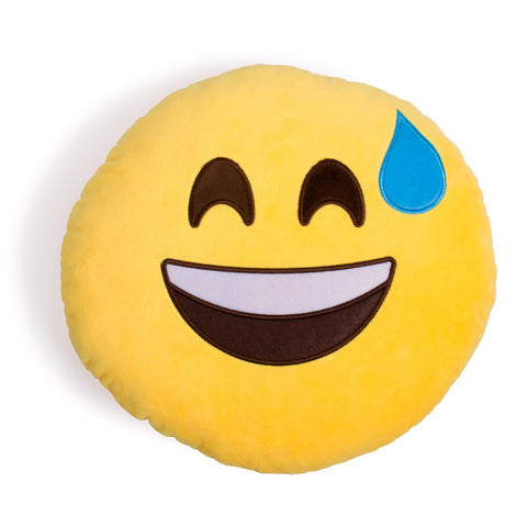 Coussin Emoji Sueurs Froides