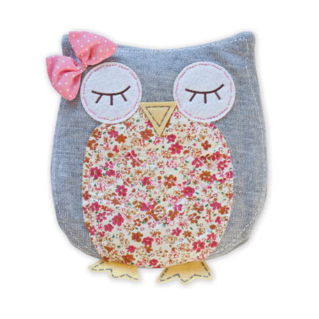 Cosy Owl - Microwavable Hottie