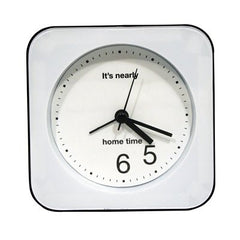 Horloge de bureau optimiste
