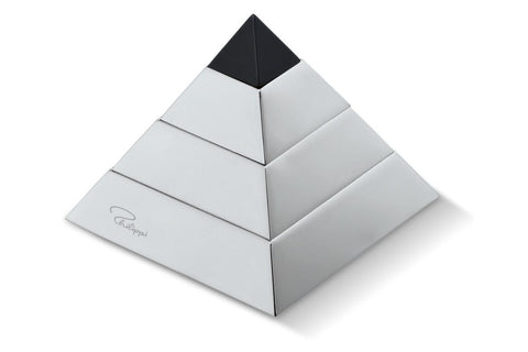Puzzle Pyramid en nickel poli