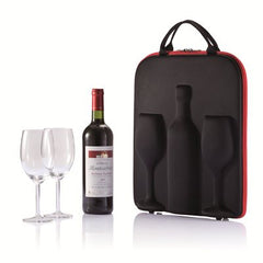 Wine Carrier With Glasses