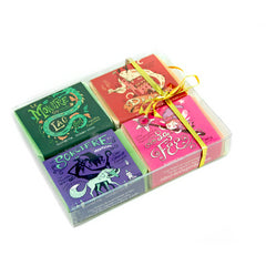 Four soaps in a gift box