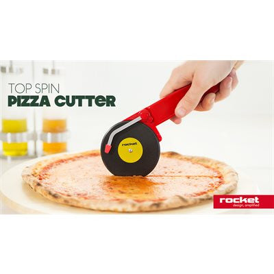 Coupe-pizza top spin