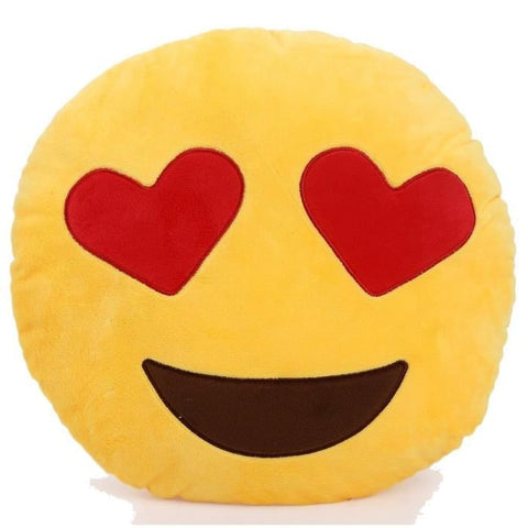 Coussin Emoji Amour