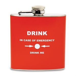 Emergency Hip Flask
