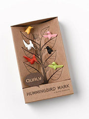 Hummingbird Glass Markers